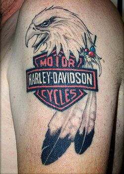 Harley Davidson TM Tattoo