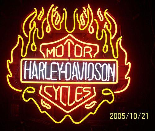 Harley_davidson neon