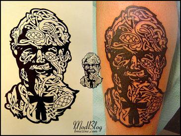 Tattoo KFC